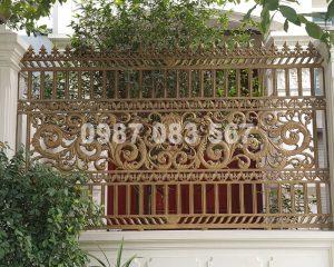 Hàng Rào Nhôm Đúc M021