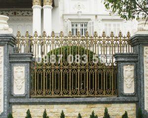 Hàng Rào Nhôm Đúc M023