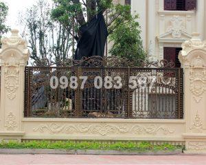 Hàng Rào Nhôm Đúc M025