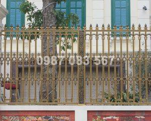 Hàng Rào Nhôm Đúc M026