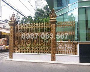 Hàng Rào Nhôm Đúc M042