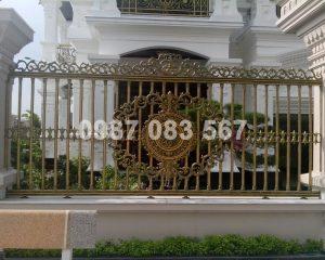 Hàng Rào Nhôm Đúc M043