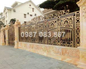 Hàng Rào Nhôm Đúc M044
