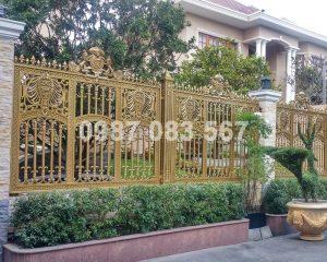 Hàng Rào Nhôm Đúc M050